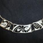 sølv-smykke-sort-hvid -feminin-mønstre